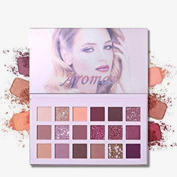 UCANBE Eyes Ucanbe Aroma Eyeshadow -18 Smooth Shades