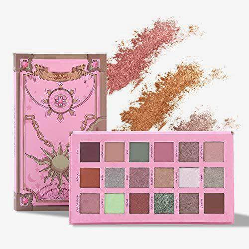 UCANBE Eyes Ucanbe Magicspell Eyeshadow-18 matte and shimmer palette