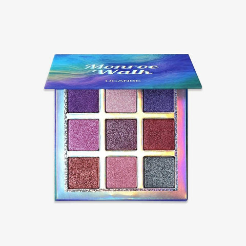 UCANBE Eyes UCANBE Monroe Walk Eyeshadow Palette - 9 Colors