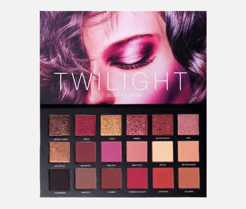 UCANBE Eyes Ucanbe Twilight  Dusk 18 Shimmer And Matte Eyeshadow Palette