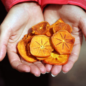 Fuyu Persimmon, Dried Slices, Organic and Biodynamic