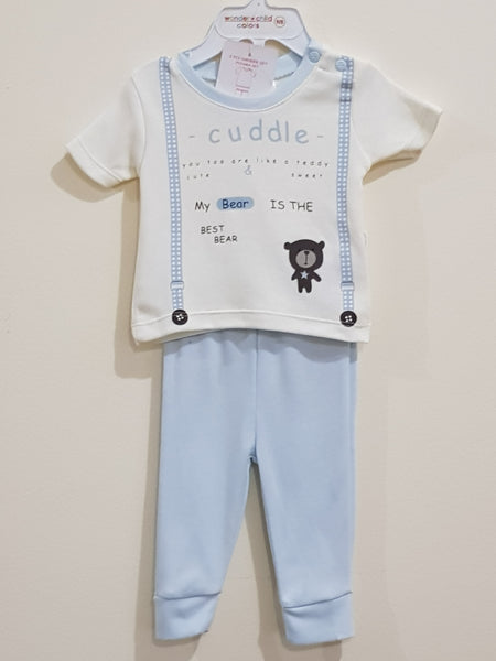 """Bear"" 2 Pcs Set by Wonder Child - Little World"