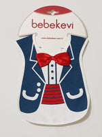 Gentle Man Fancy BebeKevi - Bib - Little World