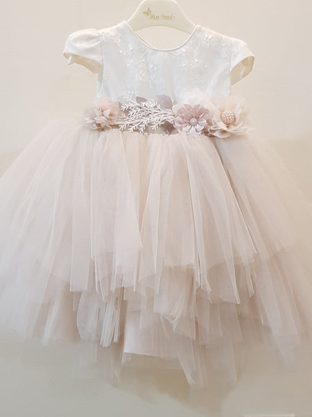 Princess Frock with  beautiful 3D floral lace design - Little World