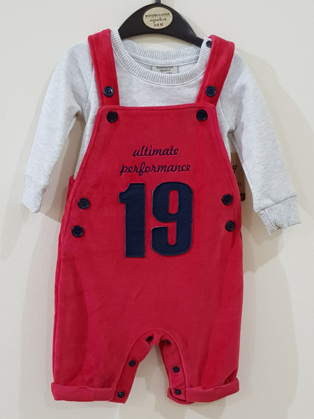 """Ultimate Performance"" - 2 Pcs Dungaree Set"