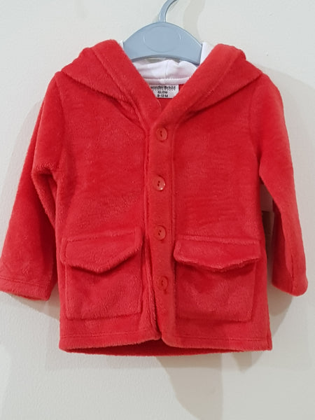 """Red"" Winter Hooded Jacket"