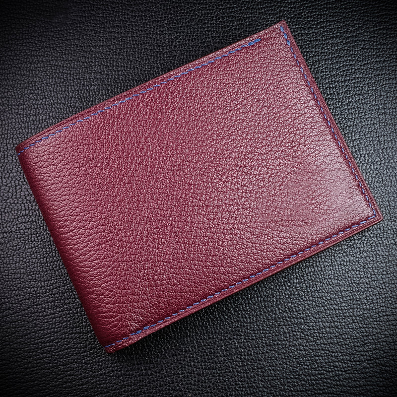 #194 Merlot French Chévre Small Bifold