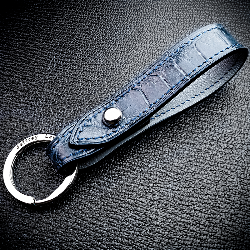#23 BYO American Alligator Split Key Ring
