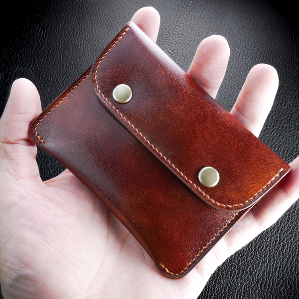 #31 Double Snapper Slim Wallet