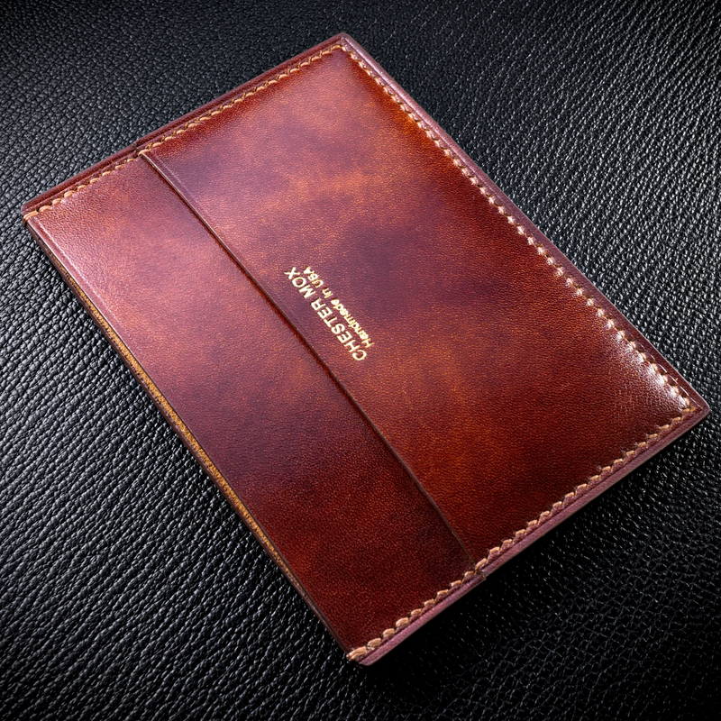 #62 Museum Calf Thumb Window Slim Wallet