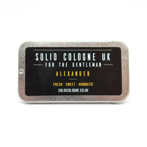 Solid cologne for men and teenage boys