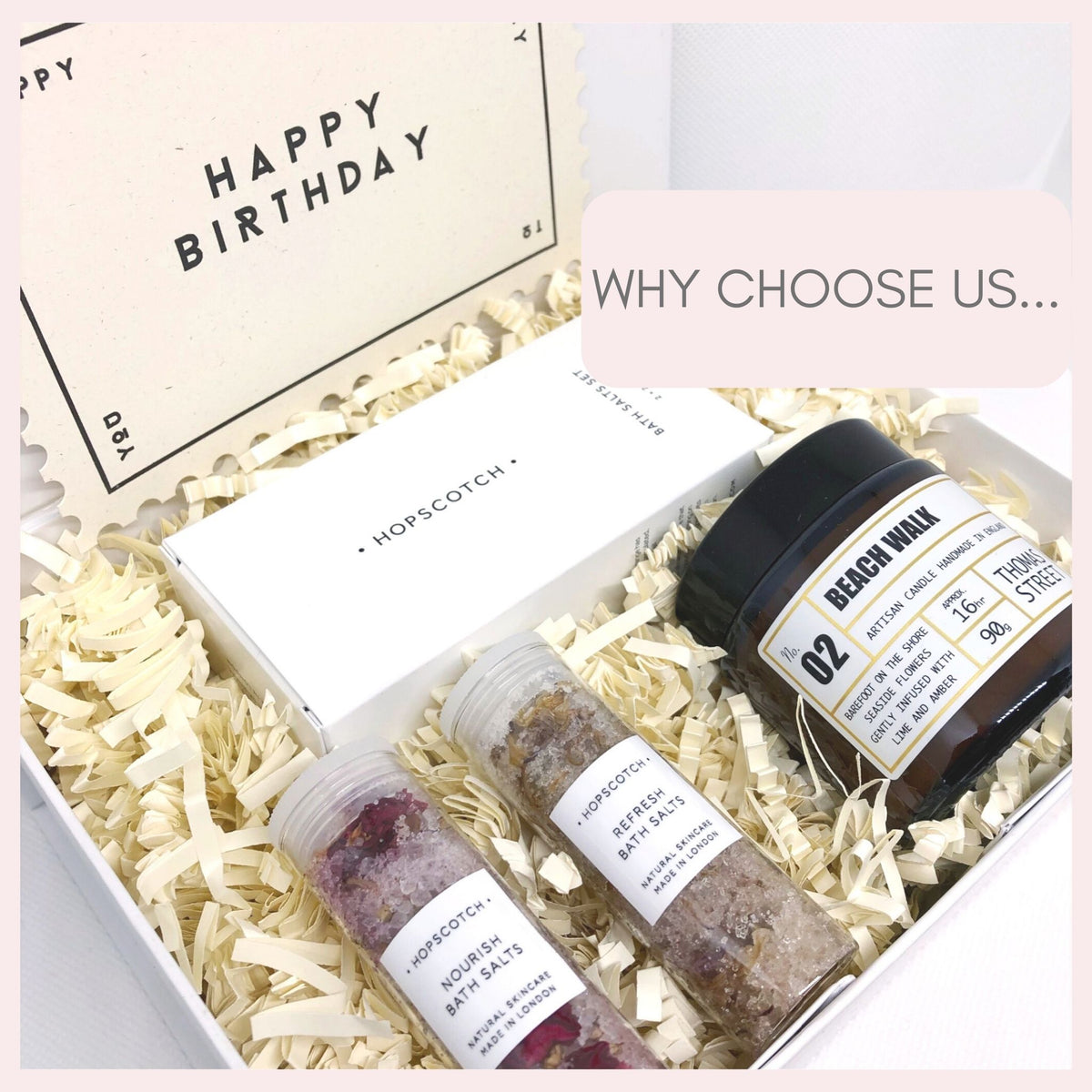 Pre-filled pamper gift box and reasons to choose us
