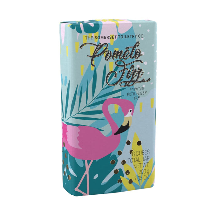 pomelo fizz scented bath fizzes bar
