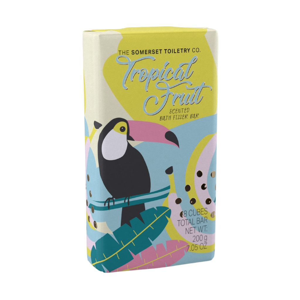 tropical fruit scented path fizzer bar