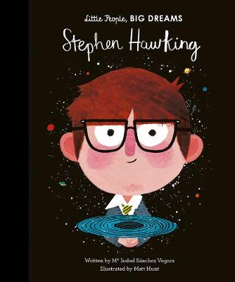 hardback children's book about Stephen Hawking