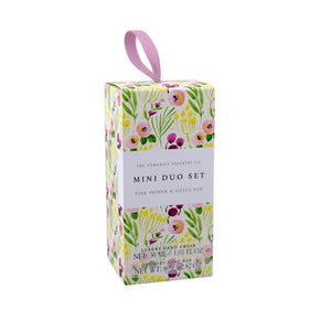 mini hand care set with pink pepper and lotus