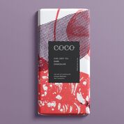 rich dark chocolate bar with earl grey tea and bergamot