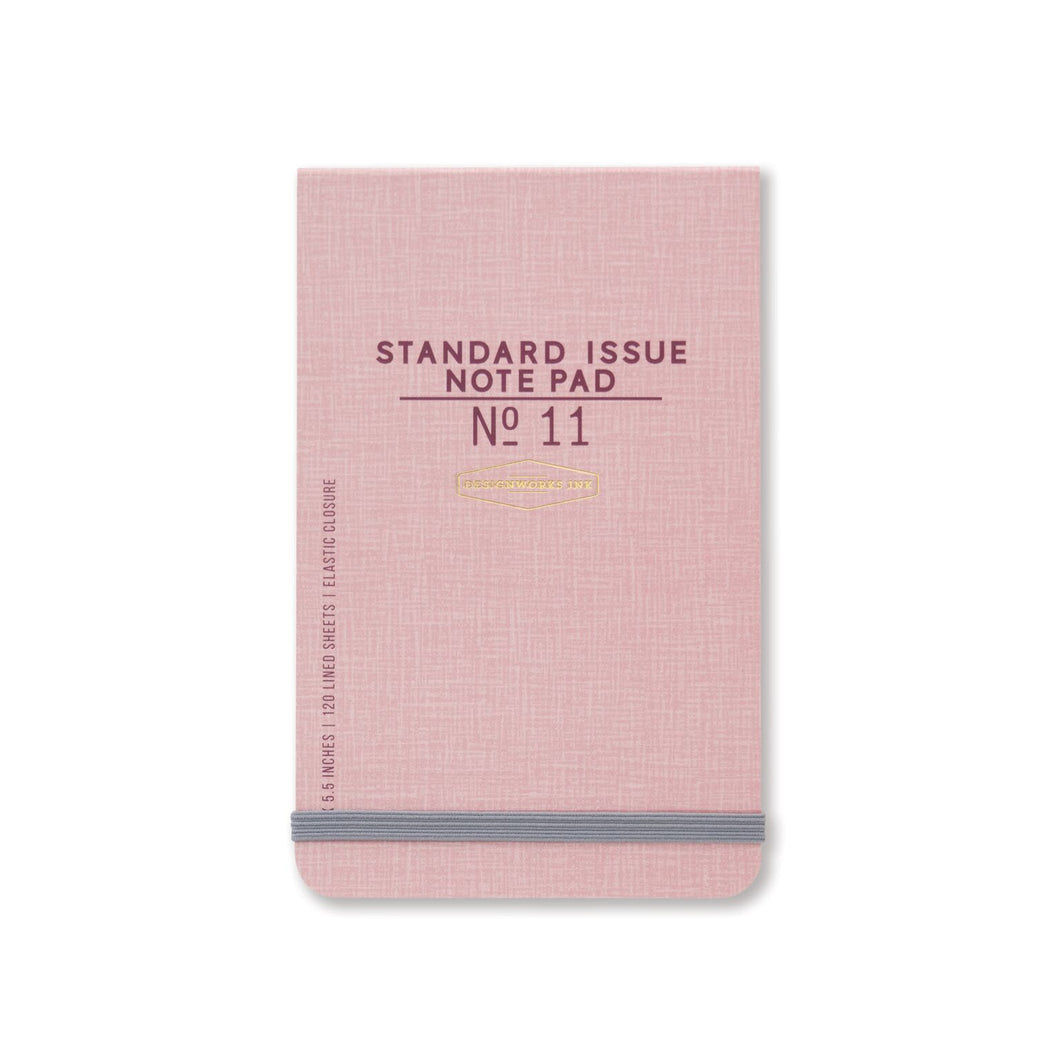 pink pocket notebook