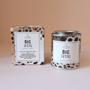 Big Hug Jasmine and Vanilla scented candle