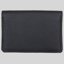 Load image into Gallery viewer, boy's ultra slim textured black leather travel wallet