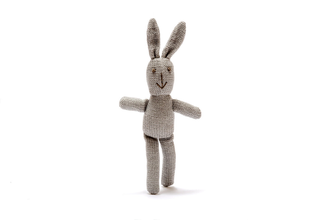 soft bunny rattle