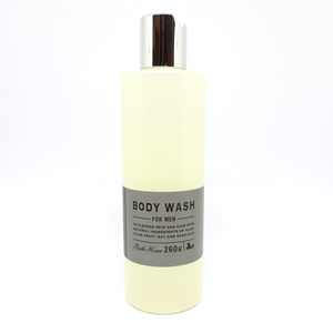 body wash for me with olive fruit, bay and sage oils