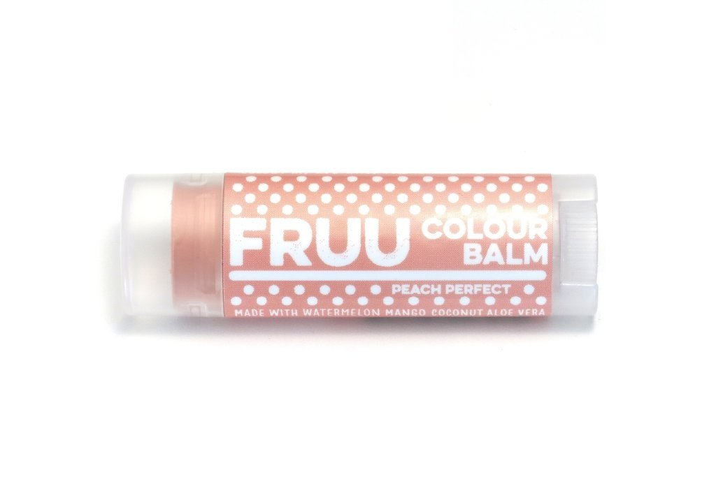 Tinted lip balm - peach