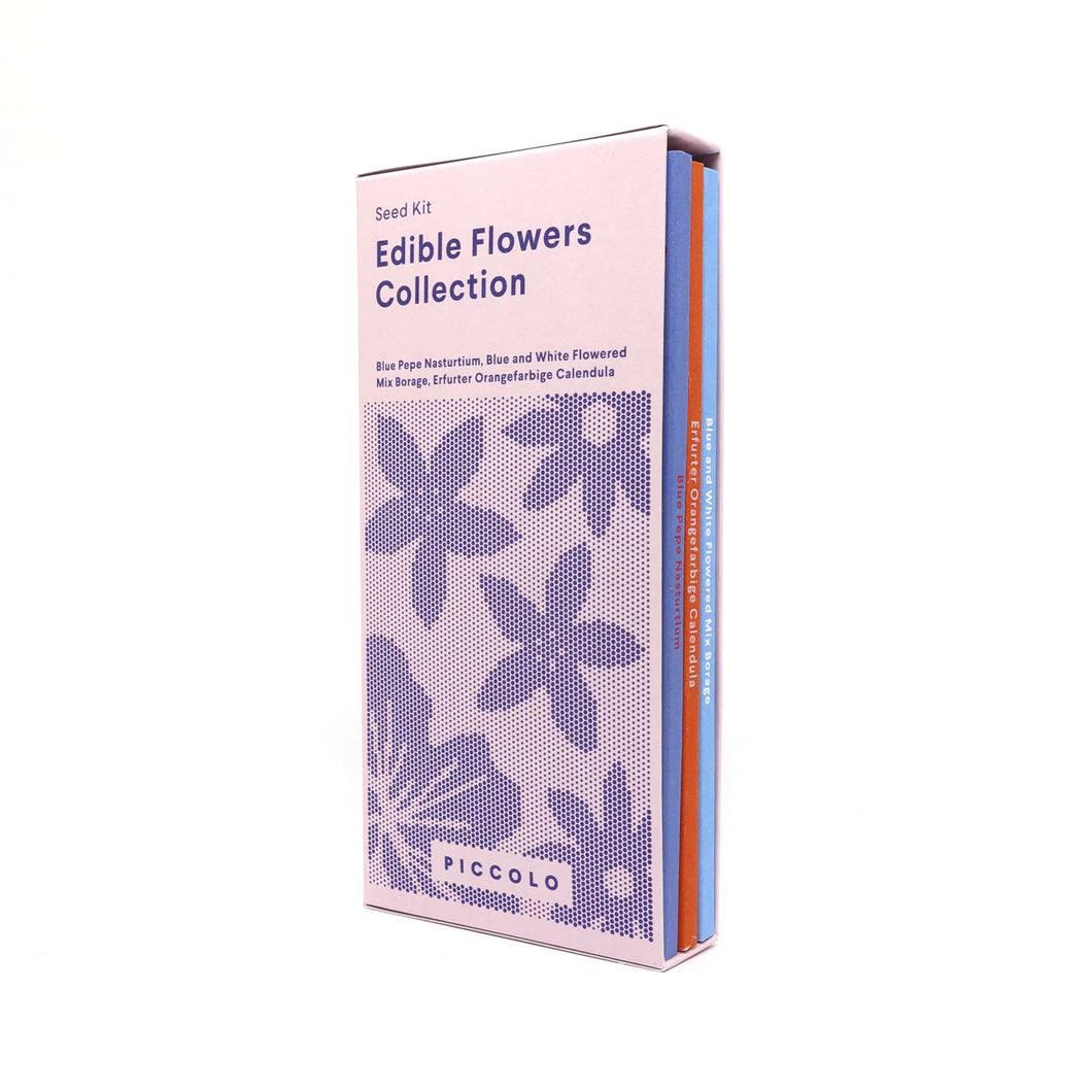 Piccolo edible flower seed collection