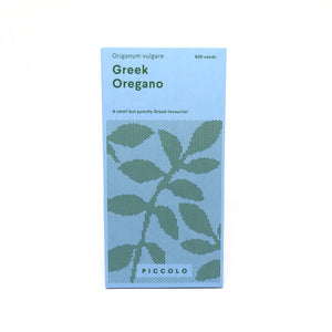 Piccolo greek oregano seed packet