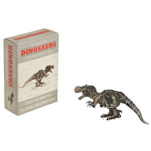 Wind up t-rex toy and box