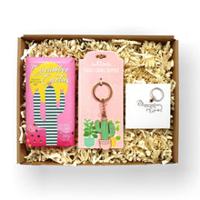 Load image into Gallery viewer, Teen girl letterbox gift with bath fizzer, keyring and ring