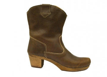 Boots Wood Itua Square Damen