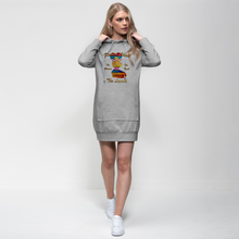 Load image into Gallery viewer, Flawed Chick The Woman The Legend Premium Adult Hoodie Dress