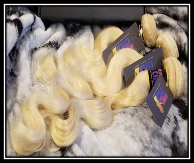 Blonde Indian Body Wave 10A Virgin Hair Bundles 1pc or 3pc