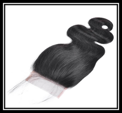 Indian Unprocessed Virgin Hair Closure - Straight, Body Wave, Deep Wave