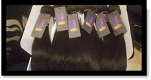 Load image into Gallery viewer, Indian Straight 10A Virgin Hair Bundles Natural Color 1pc or 3pc