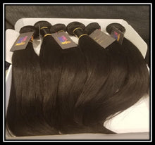Load image into Gallery viewer, Bundle Deals - Indian Hair 3 Bundles With Closure - Body Wave, Straight, or Deep Wave - Natural Color