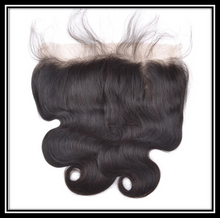 Load image into Gallery viewer, Indian Virgin Unprocessed Human Hair Frontal - Straight, Body Wave, Deep Wave