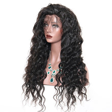 Load image into Gallery viewer, Brazilian Virgin Loose Wave Full Lace and Lace Front Human Hair Wigs 150% Density
