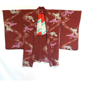 Long haori antique ~20's Grues
