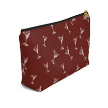 Load image into Gallery viewer, Cocktail Accessory Pouch w T-bottom