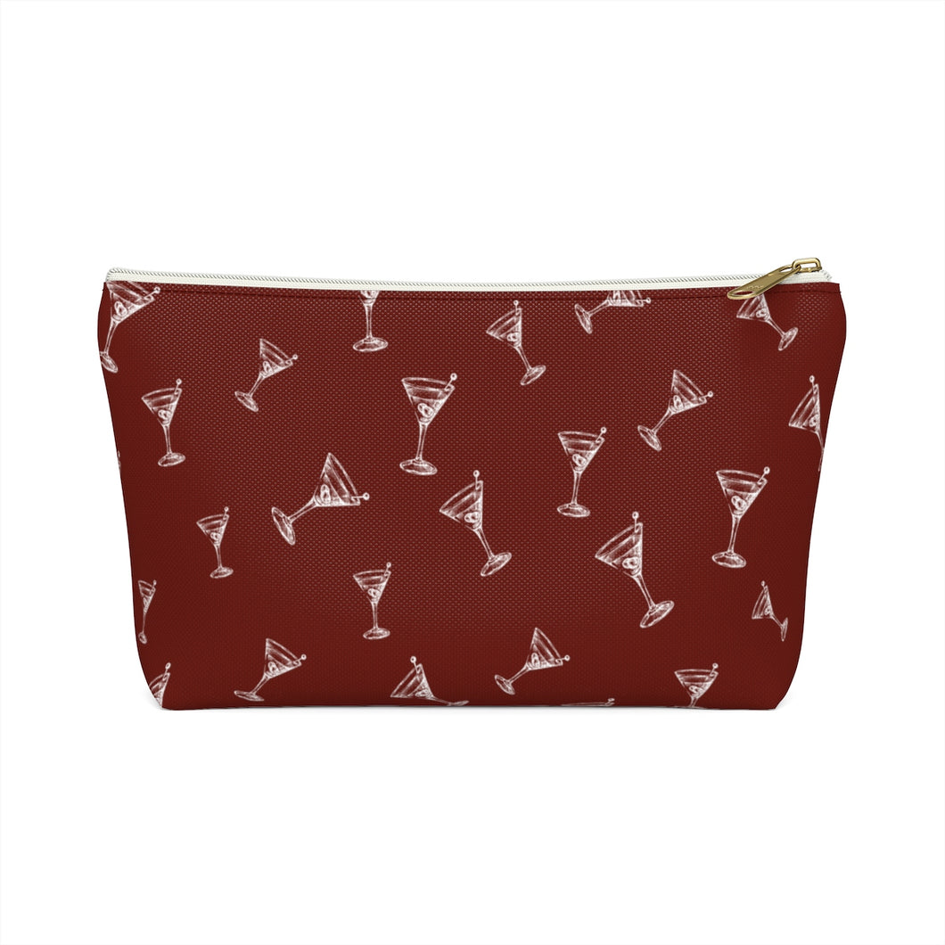 Cocktail Accessory Pouch w T-bottom