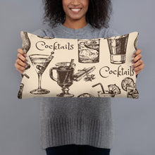 Load image into Gallery viewer, Cocktail Throw Pillows