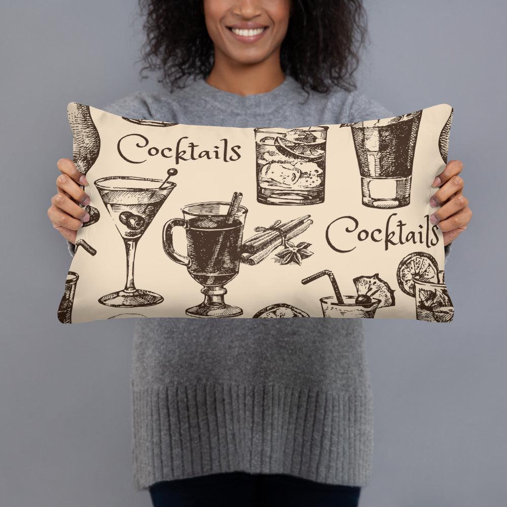Cocktail Throw Pillows