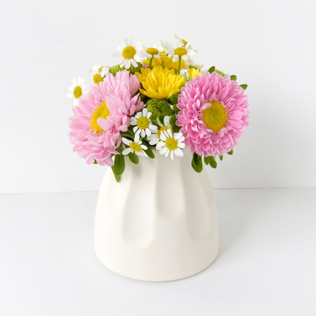 Margot Scallop Vase