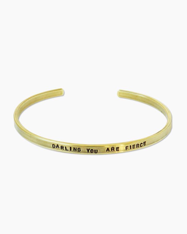 You Are Fierce Bracelet