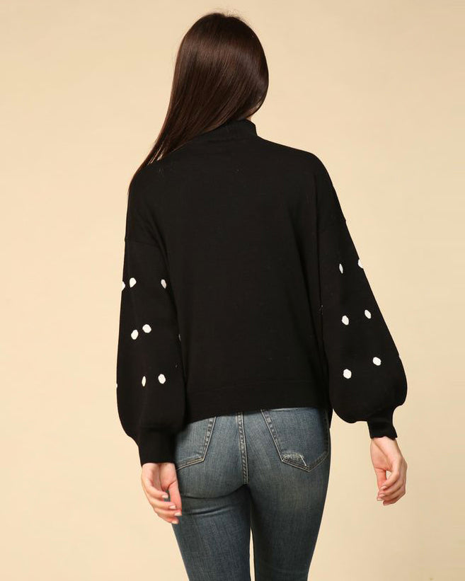 Kate Polka Dot Sweater