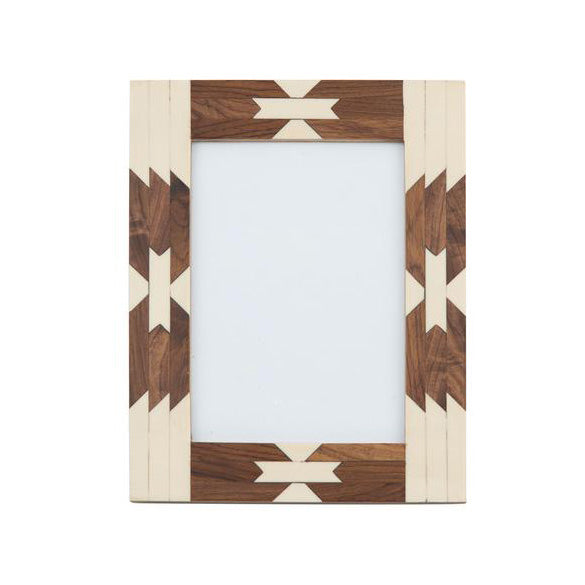 America Navajo Inlay Picture Frame