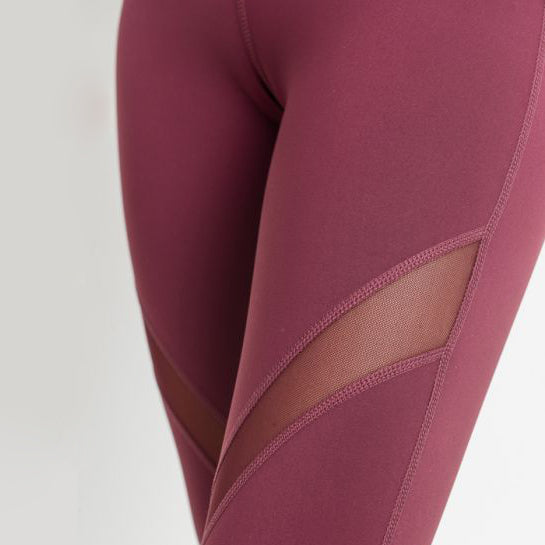 Angled Mesh Leggings