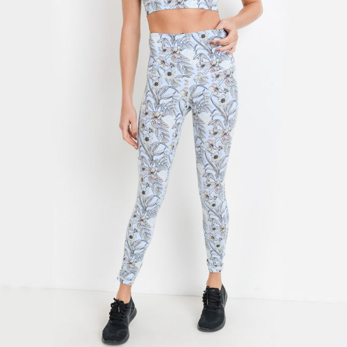 Poppy Print Highwaist Leggings